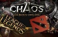 Chaos Heroes Online | Heroes VS LoL and Dota