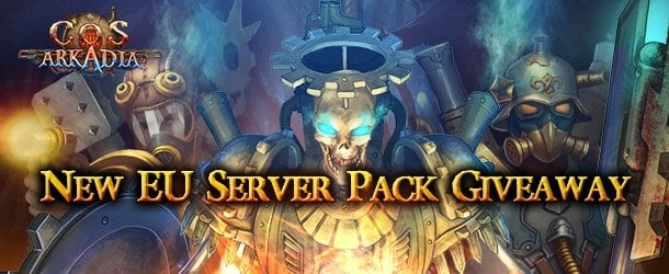 City of Steam Arkadia New Server Growth Pack Giveaway