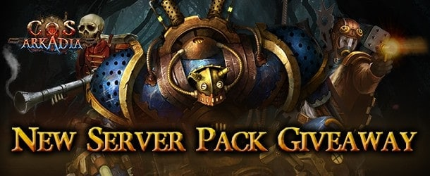 City of Steam Arkadia New Server Pack Giveaway