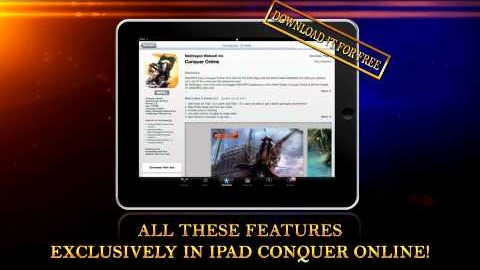 Conquer Online for iPad Version 2.01