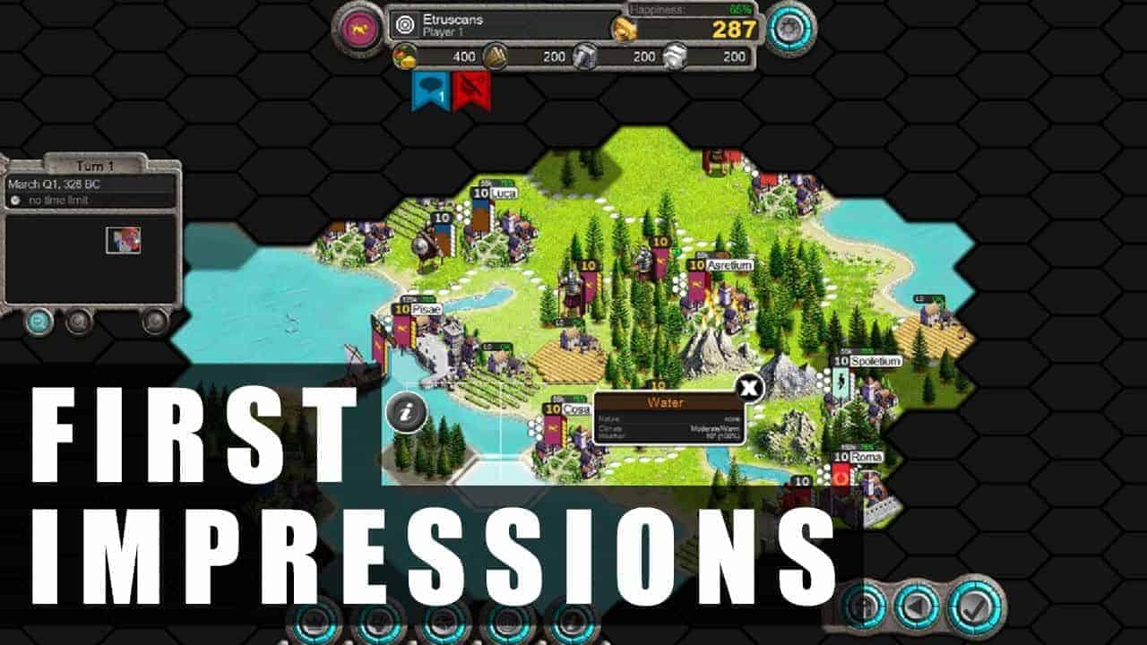 Demise of Nations: Rome Gameplay | First Impressions HD