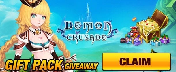 Demon Crusade Gift Pack Giveaway