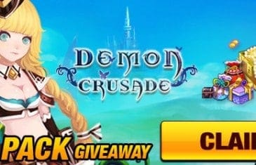 Demon Crusade Open Beta Pack Giveaway