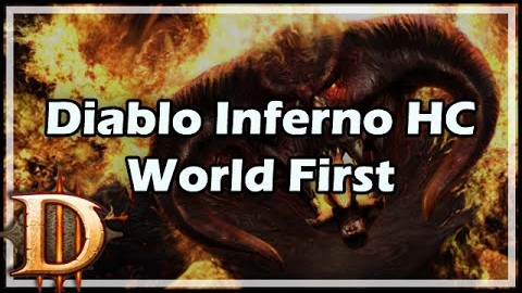 Diablo 3: Hardcore Inferno completion accomplished by a barbarian