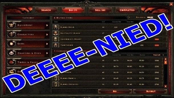 Blizzard Resolves Diablo 3 Patch Exploitation