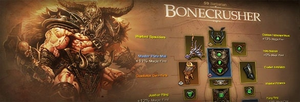 Diablo 3 Receives New Character Profiles