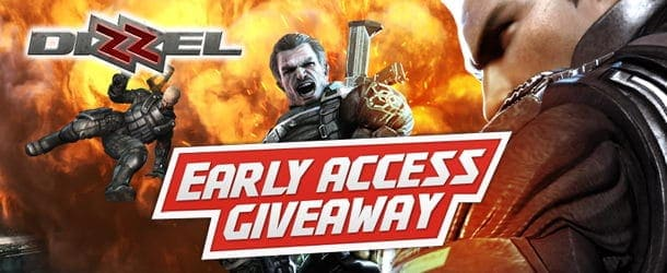 Dizzel Early Access Giveaway + P90 Gun