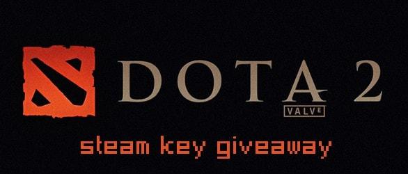 Dota 2 Steam Keys Facebook Giveaway