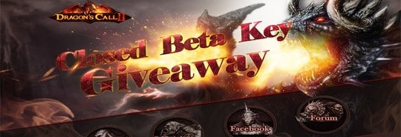 Dragon?s Call II – Closed Beta Key Giveaway