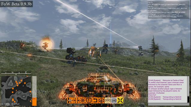 Fields of War – 200 Player Mech Shooter Released