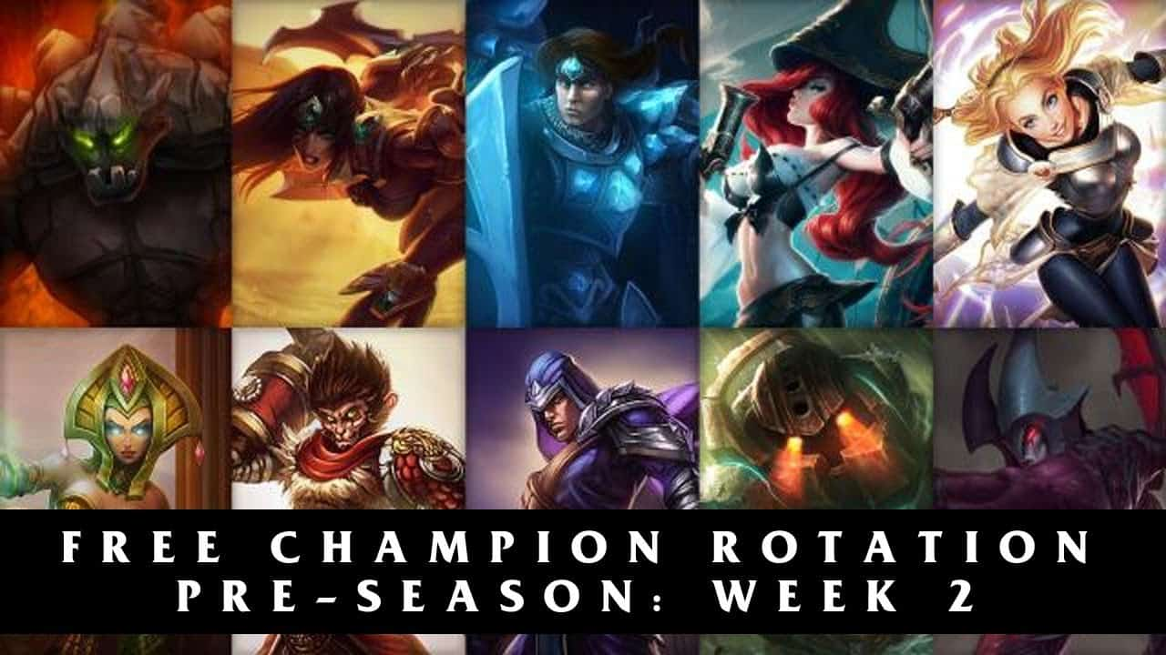 Another week has landed, meaning those of you with a little less BE to burn on League of Legends get another selection of free champions to try out. As always, that means there's a good selection.