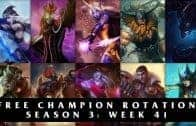 Free League of Legends Champions | Season 3: Week 41