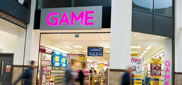 British game retailer Game closes 277 stores