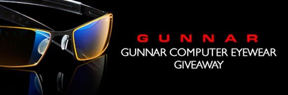 GUNNAR Optiks Gaming Eyewear Giveaway