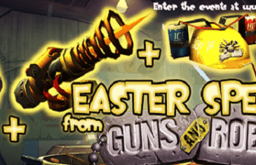 Guns and Robots In-Game Item Giveaway