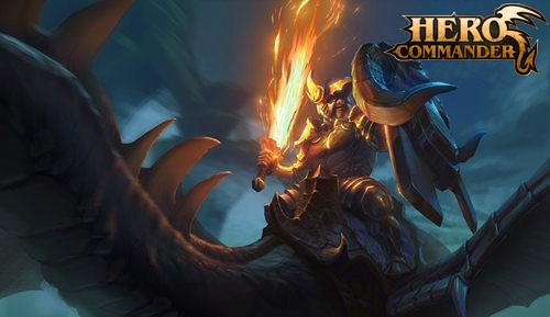 hero commander drake rider