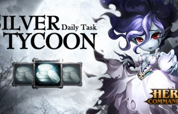 Become A Rich Man in Silver Tycoon From Hero Commander