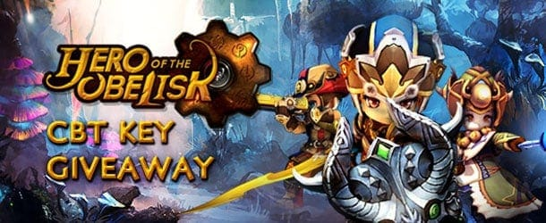 Hero of the Obelisk Closed Beta Keys