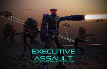 Indie RTS Strategy Hybrid Executive Assault Invades Steam