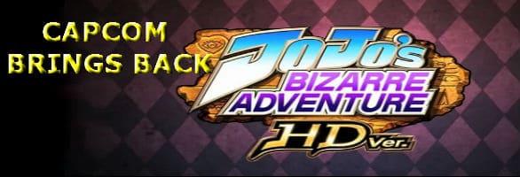 Capcom Brings Back A Classic: JoJo's Bizarre Adventure HD