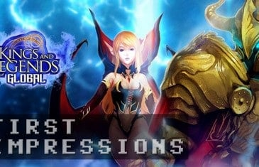Kings and Legends Gameplay – First Impressions HD