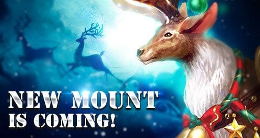 knights fable reindeer mount
