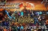 League of Legends Top Played Champions June 2013