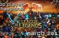 League of Legends: Top Played Champions (March 2013) – MMO Attack Top 10