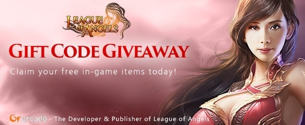 League of Angels Gift Code Giveaway