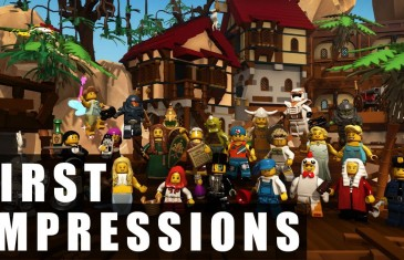 Lego Minifigures Online Gameplay | First Impressions HD