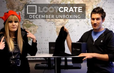 Loot Crate Unboxing – December 2013