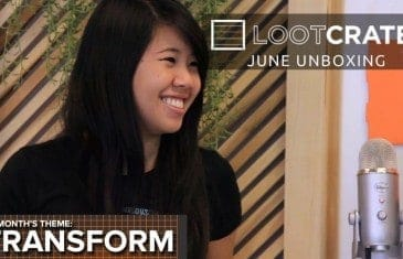 Loot Crate Unboxing – June 2014 Transform