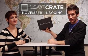 Loot Crate Unboxing – November 2013