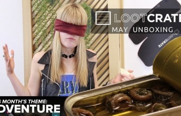 Loot Crate Unboxing – Sardine Onions | May 2014 Adventure