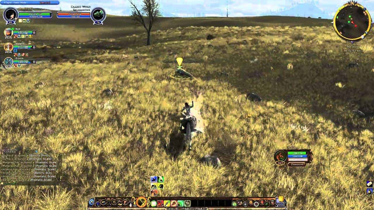 Lord of the Rings Online : Mounted Combat Video Diary