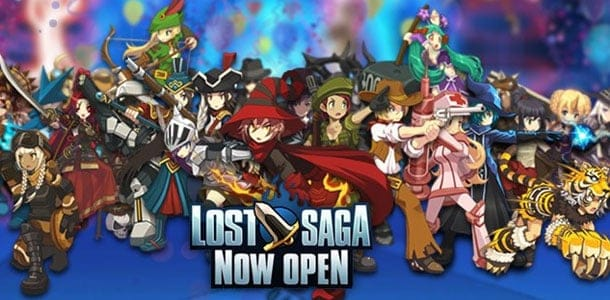 Lost Saga Implements Minecraft Style Features