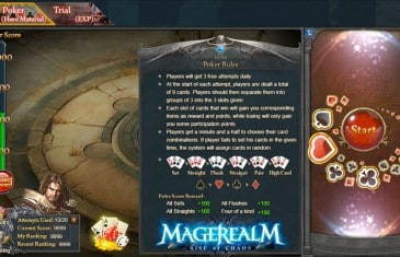 New Function and Changes Come to Magerealm – Mage Poker