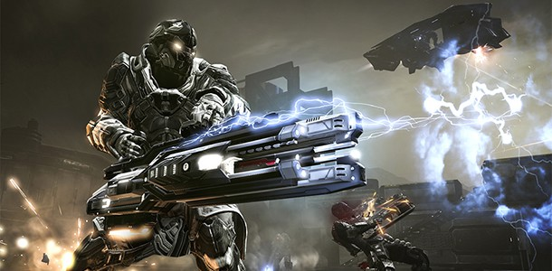 Battle The Developers In DUST 514
