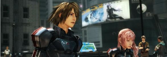 Final Fantasy and Mass Effect Crossover DLC?!