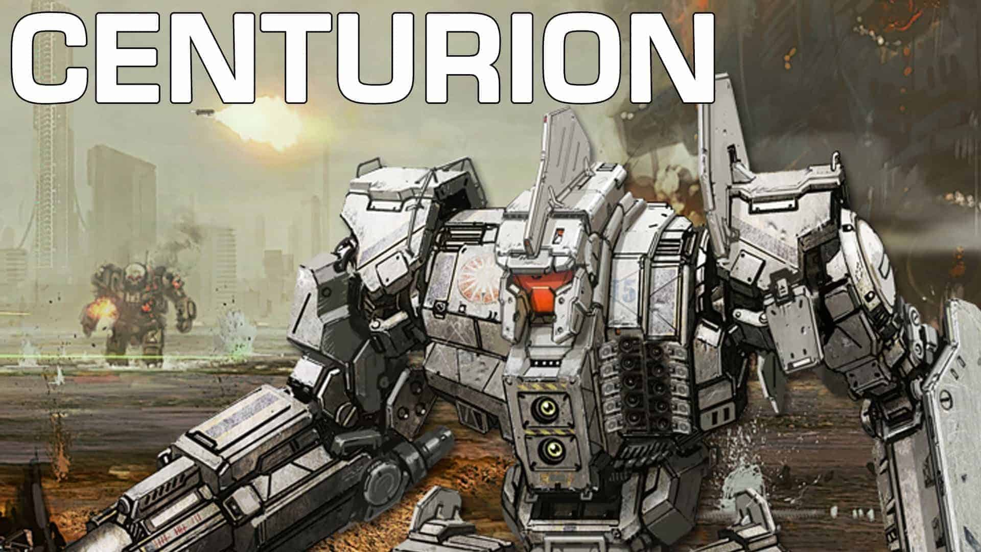 MechWarrior Online : Centurion Mech Revealed in New Video