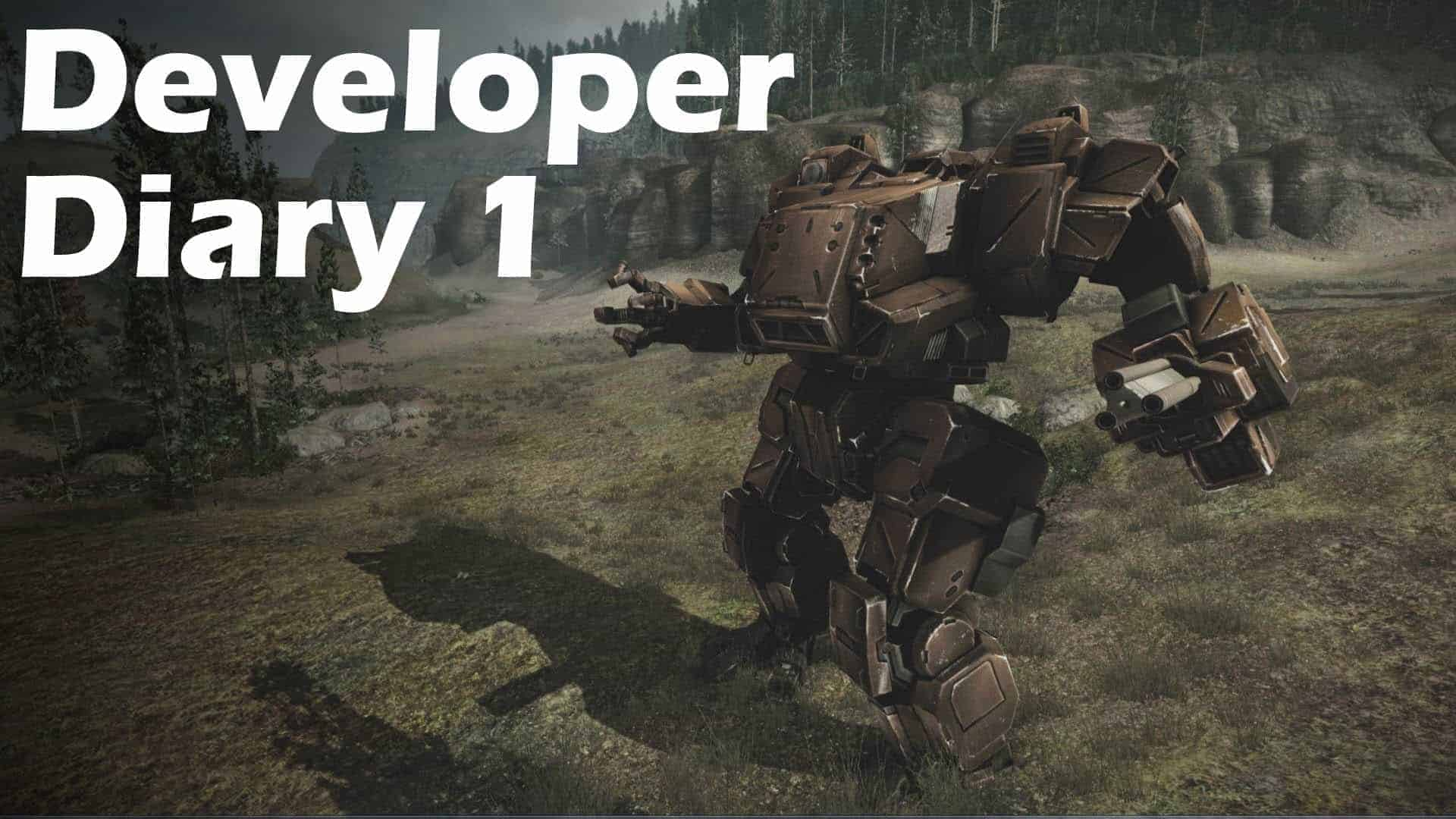 MechWarrior Online developer diary series