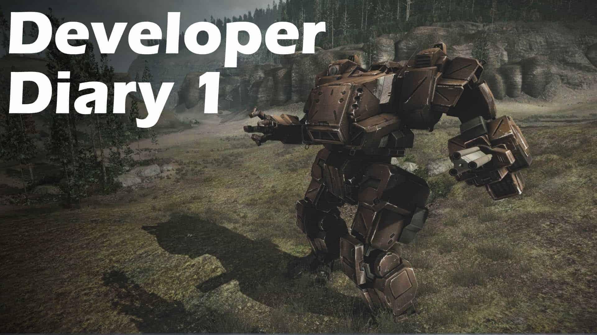 MechWarrior Online developer diary series