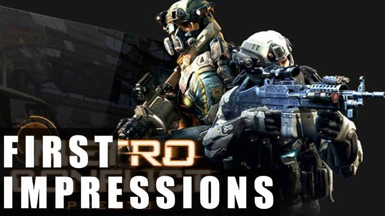 Metro Conflict Gameplay | First Impressions HD
