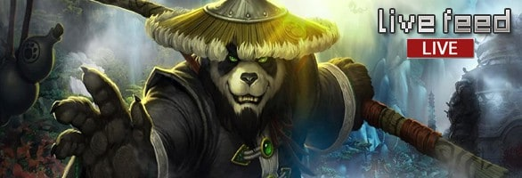 Mists of Pandaria Global Launch Event, Live Feed!