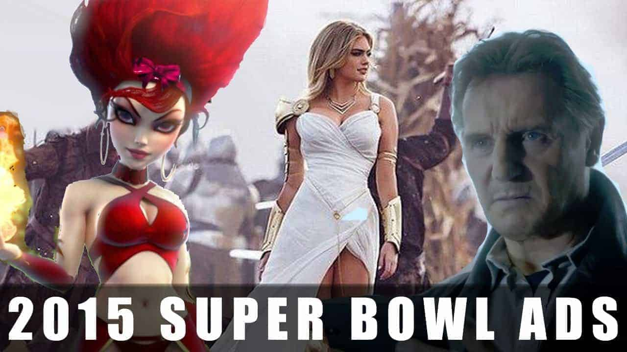 Mobile Gaming's 2015 Super Bowl Ads Game Reviews