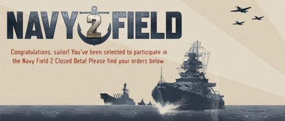 Navy Field 2 – Closed Beta Keys