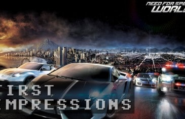 Need for Speed World Gameplay – First Impressions HD