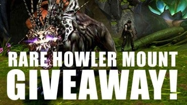 Neverwinter PC Rare Howler Mount Giveaway!