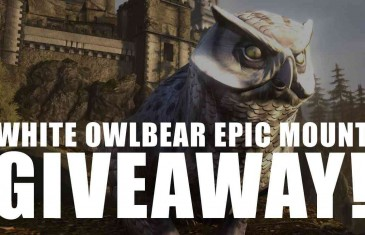 Neverwinter White Owlbear Epic Mount Giveaway!