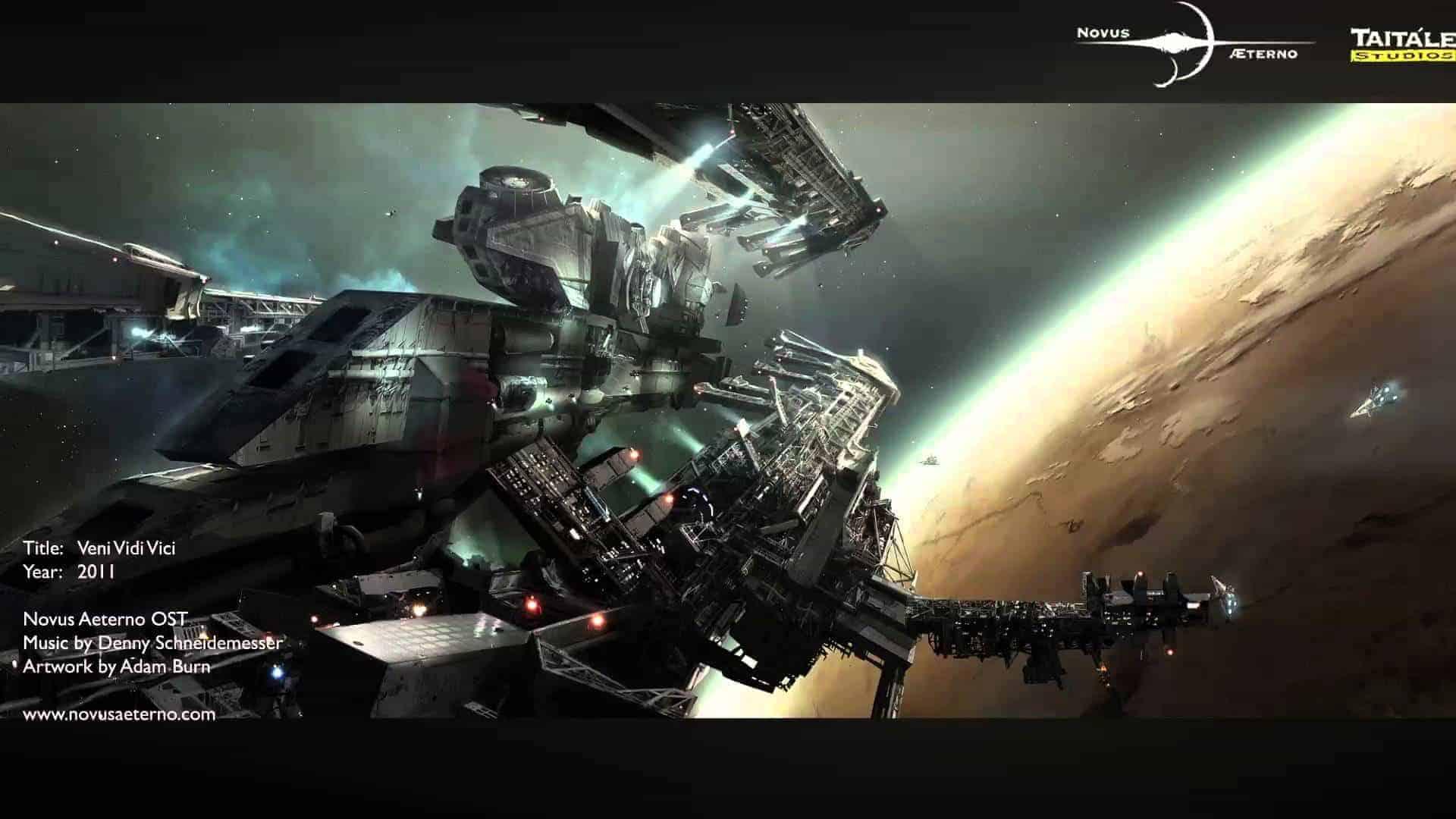 New Sci-Fi RTS, Novus AEterno Announced